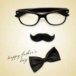 Klassisk fars dag kort