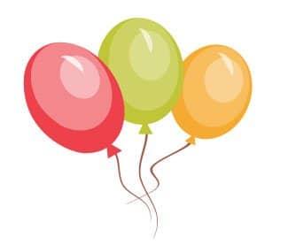 Lad der være fødselsdagsfest - start med at sende en flot fødselsdagsinvitation