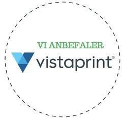 Vi anbefaler Vista Print til indbydelser og invitationer