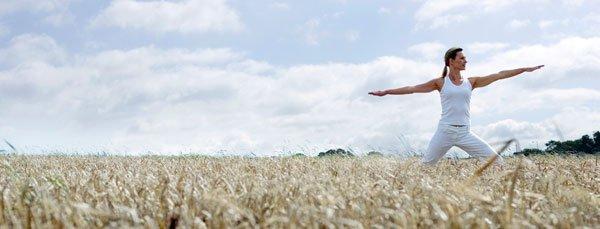 Yoga er godt for krop og sind