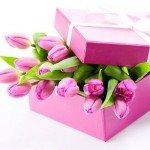 Romantisk fødselsdagsbuket