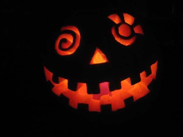 Freaky halloween græskar