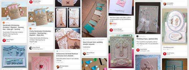 Lav dine egne barnedåbsinvitationer med hjælp fra Pinterest