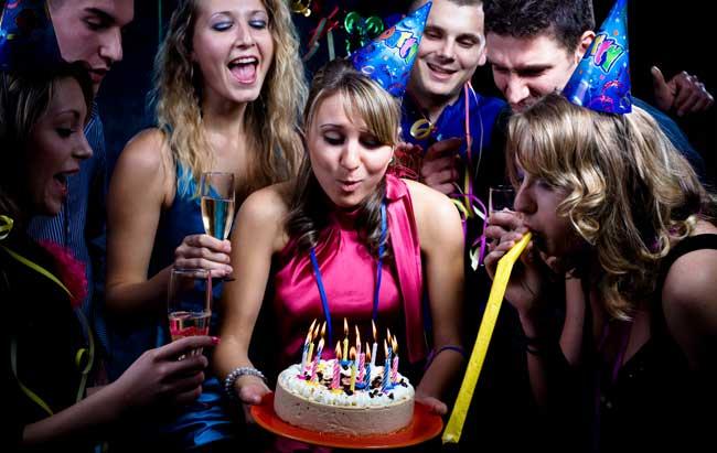 Et brag af en fødselsdagsfest