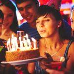 25 års fødselsdag med vennerne