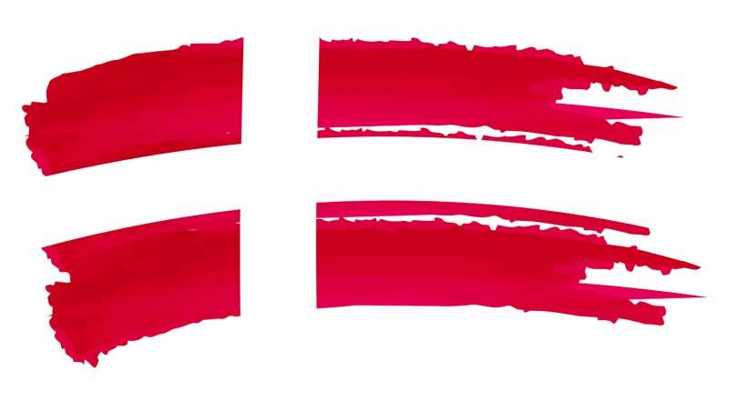 billeder af flag og blomster