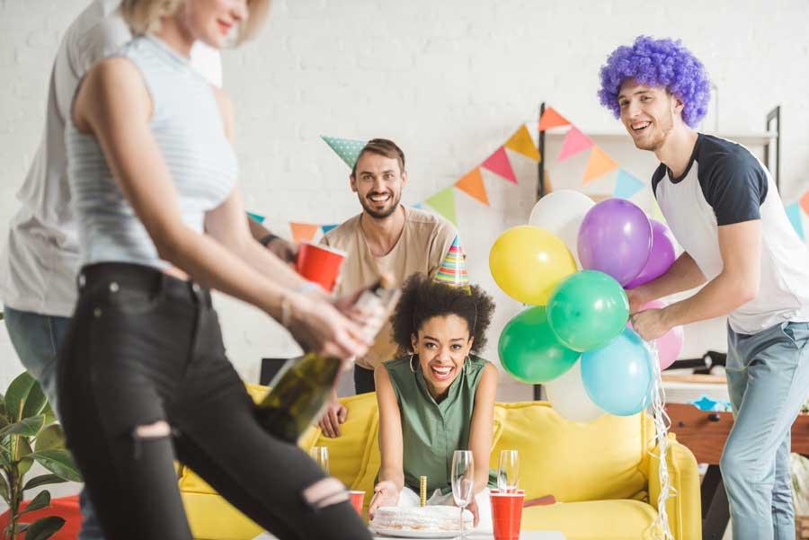 Fødselsdagsfest idéer for voksne